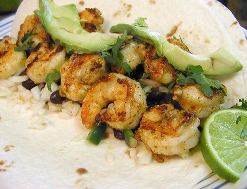 Chipotle Grilled Shrimp Tacos
